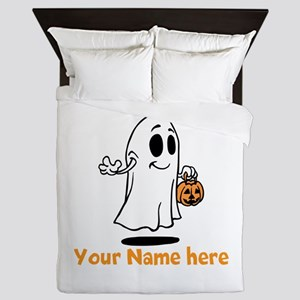 Personalized Halloween Queen Duvet