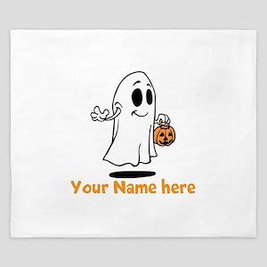 Personalized Halloween King Duvet