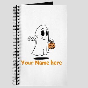 Personalized Halloween Journal