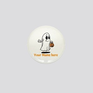 Personalized Halloween Mini Button