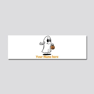 Personalized Halloween Car Magnet 10 x 3