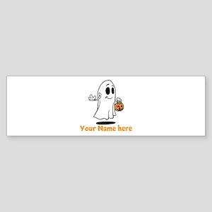 Personalized Halloween Sticker (Bumper)