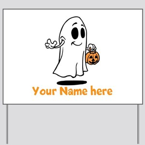 Personalized Halloween Yard Sign