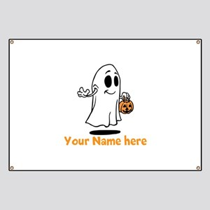 Personalized Halloween Banner