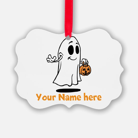 Personalized Halloween Ornament