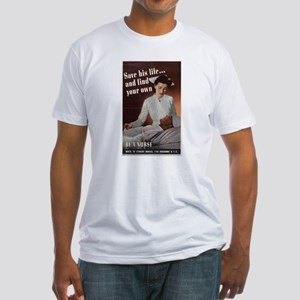 SAVE HIS LIFE AND FIND YOUR O Fitted T-Shirt