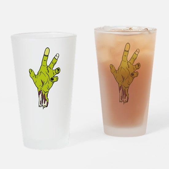 Zombie Hand Drinking Glass
