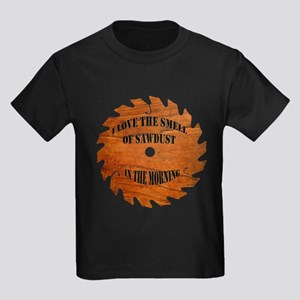 Sawdust in the Morning Kids Dark T-Shirt