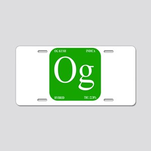 Elements - OG Aluminum License Plate