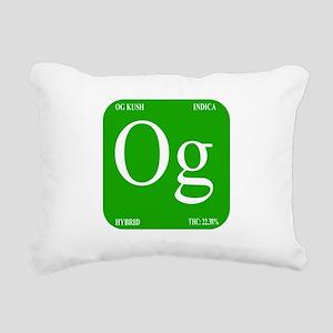 Elements - OG Rectangular Canvas Pillow
