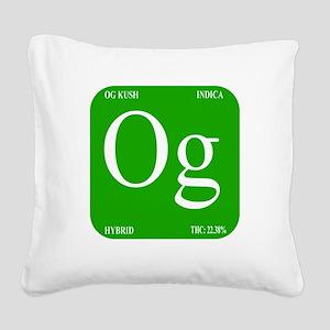 Elements - OG Square Canvas Pillow