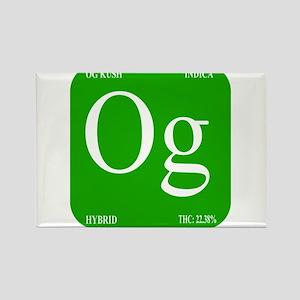 Elements - OG Rectangle Magnet