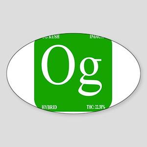 Elements - OG Sticker (Oval)