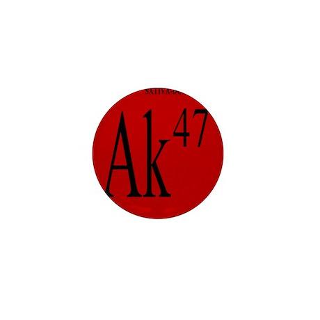 AK-47 BLACK Mini Button