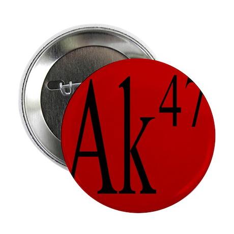 """AK-47 BLACK 2.25"""" Button"""