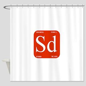 Sour Diesel Shower Curtain