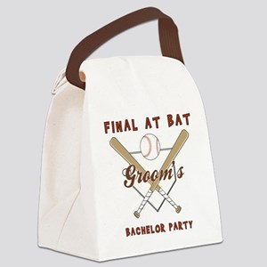 BACHELOR PARTY Canvas Lunch Bag