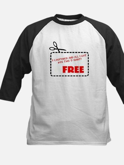 All I got was this T-shirt! Kids Baseball Jersey
