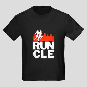 RUN CLEVELAND Kids Dark T-Shirt