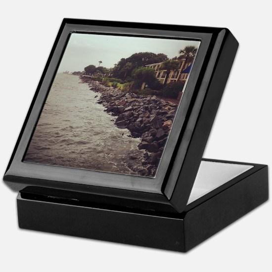 Rocky Shore Keepsake Box