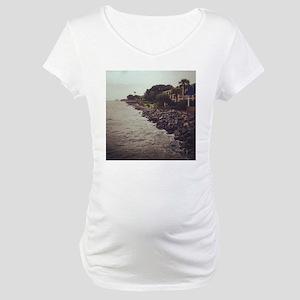 Rocky Shore Maternity T-Shirt