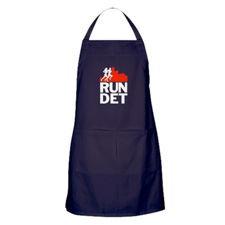 RUN DETROIT Apron (dark)