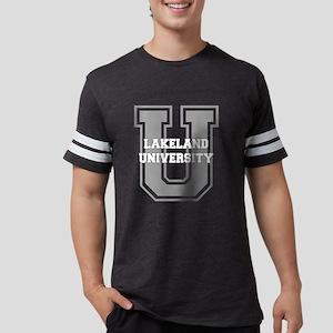 3-lakelandu_black Mens Football Shirt