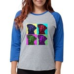 square.png Womens Baseball Tee