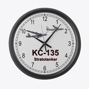 KC-135 Stratotanker Large Wall Clock