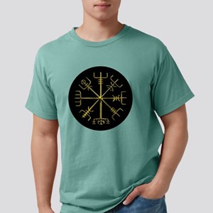 Gold Vegvisir O Mens Comfort Colors Shirt