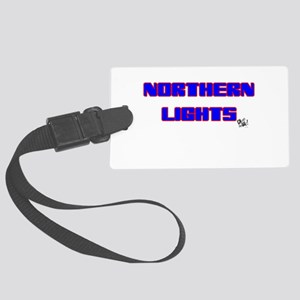 Northern Lights Large Luggage Tag