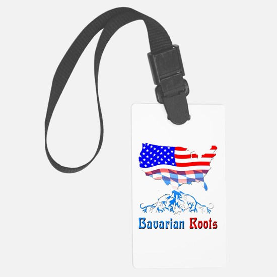 American Bavarian Roots Luggage Tag
