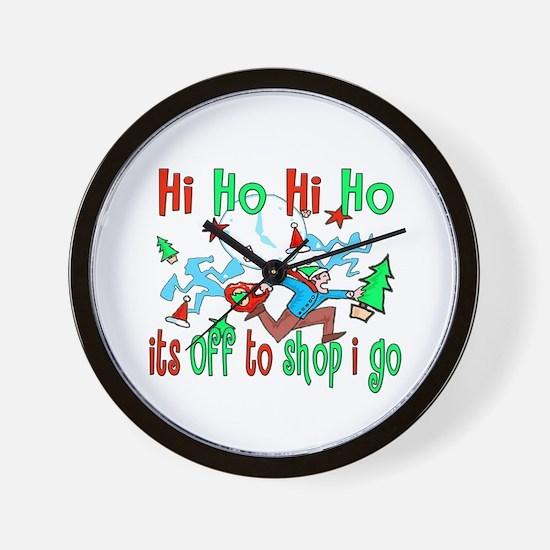 Hi Ho Hi Ho Wall Clock