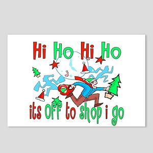 Hi Ho Hi Ho Postcards (Package of 8)