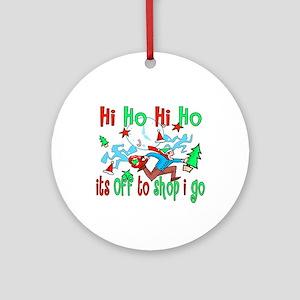 Hi Ho Hi Ho Ornament (Round)