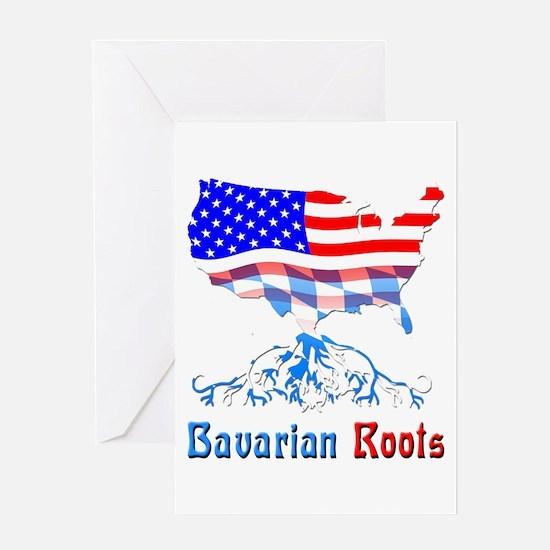 American Bavarian Roots Greeting Card