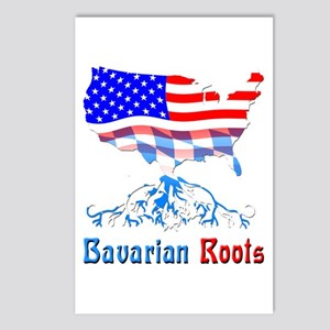 American Bavarian Roots Postcards (Package of 8)