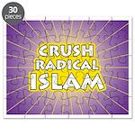 Crush Radical Islam Puzzle