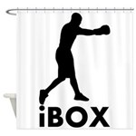 iBox Boxing Shower Curtain