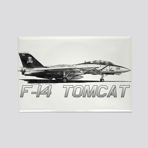 F14 Tomcat Rectangle Magnet