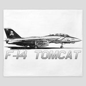F14 Tomcat King Duvet