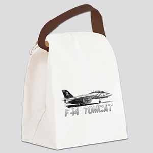 F14 Tomcat Canvas Lunch Bag