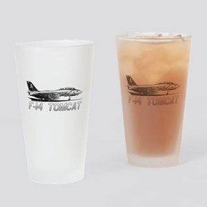 F14 Tomcat Drinking Glass