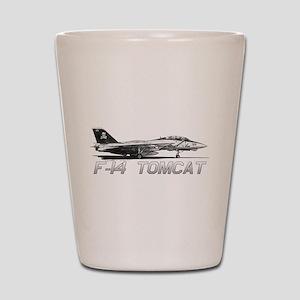 F14 Tomcat Shot Glass