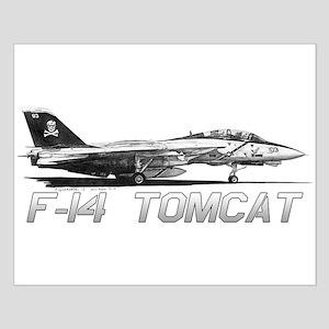 F14 Tomcat Small Poster
