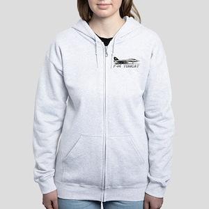 F14 Tomcat Women's Zip Hoodie