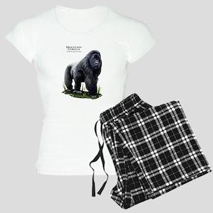 Mountain Gorilla Women's Light Pajamas