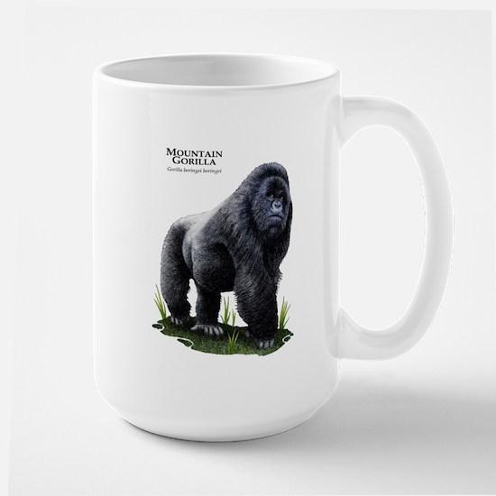 Mountain Gorilla Large Mug