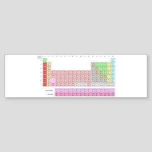 Periodic Table Sticker (Bumper)