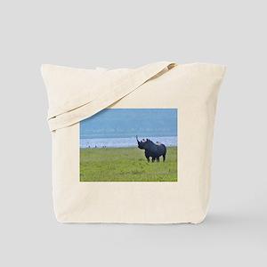 nakuru black rhino kenya collection Tote Bag
